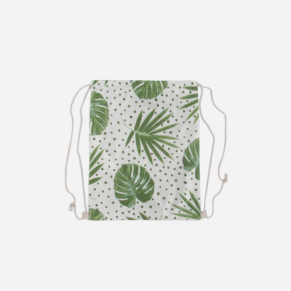 Σακίδιο πλάτης Τροπικά φύλλα 28x35cm
