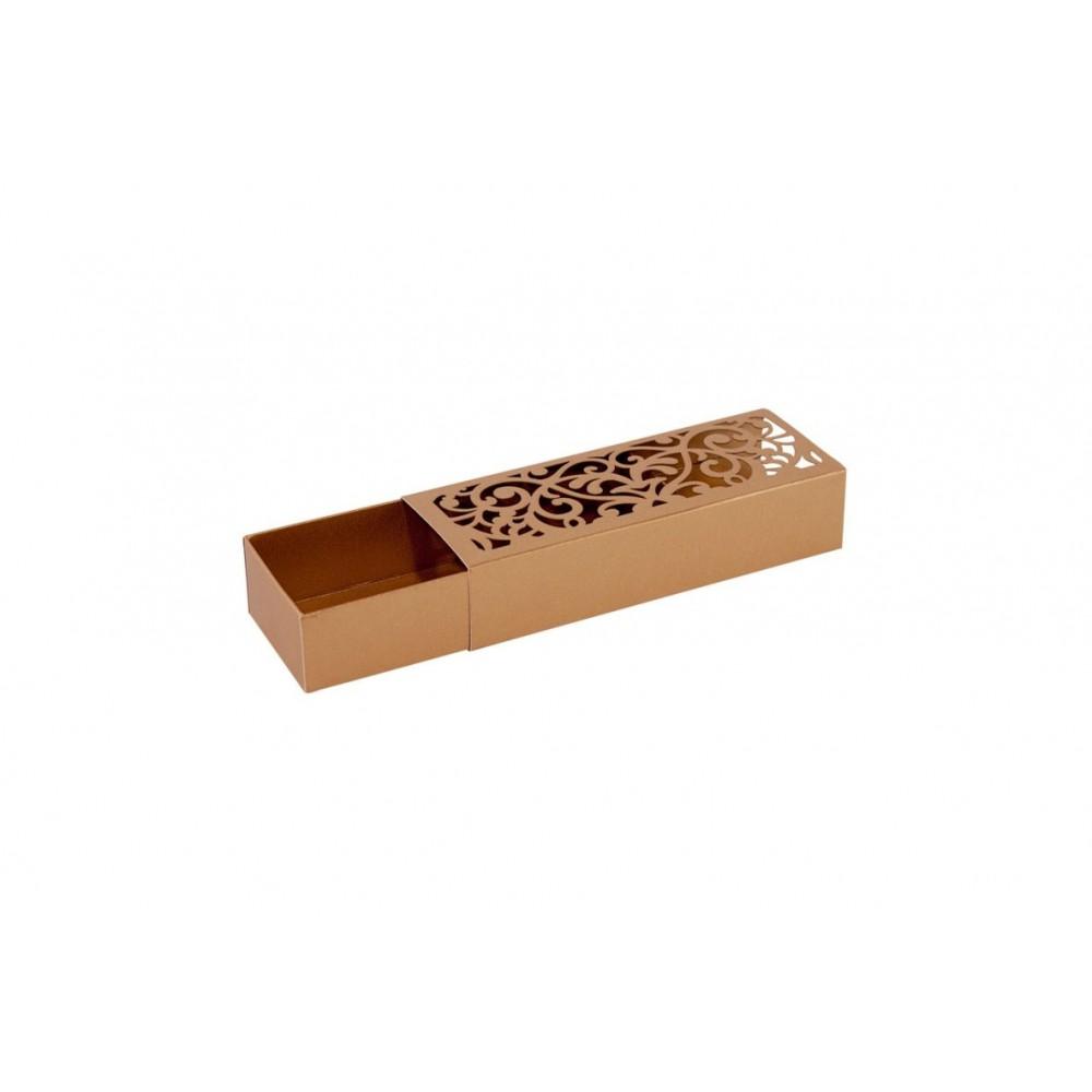 Προσκλητήριο - κουτί συρταρωτό laser cut
